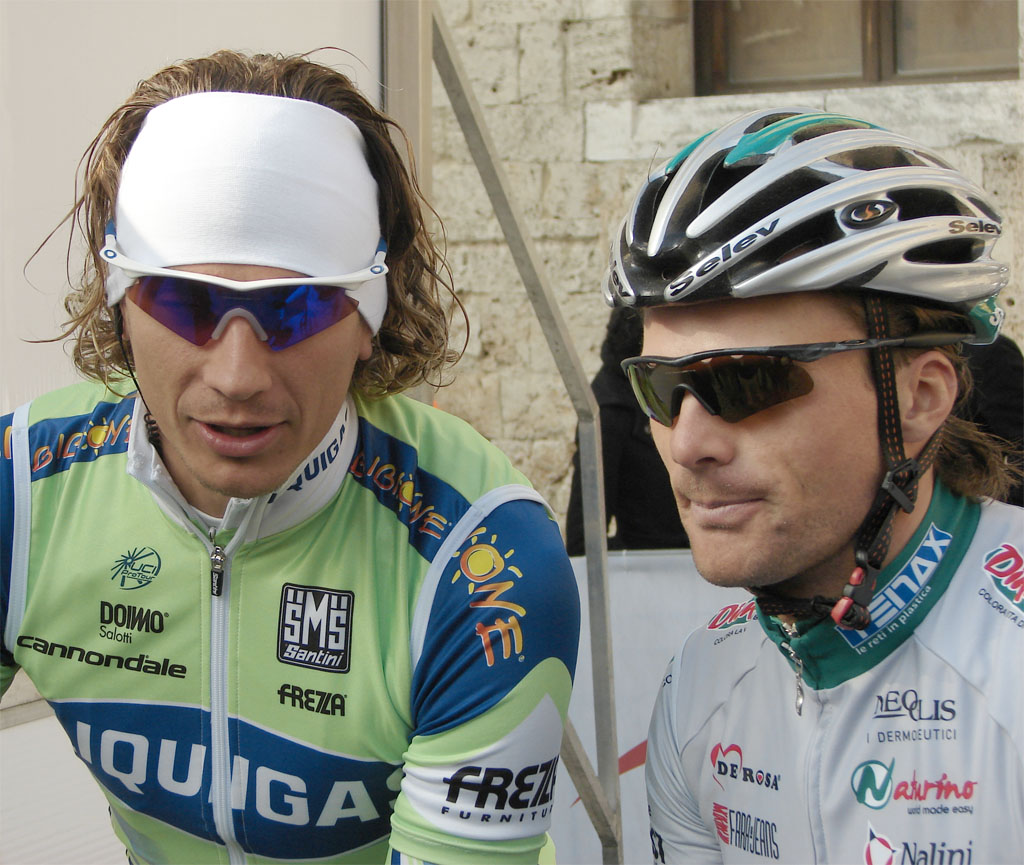 Pozzato and Di Luca style the M Frames | Cyclingresults.net ...
